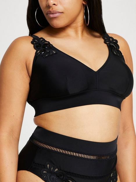ri-plus-lace-trim-bikini-top-black