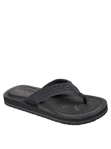 skechers-thong-sandal-w-memory-foam-blacknbsp