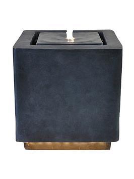 ivyline-outdoor-elite-led-cube-water-feature-granite