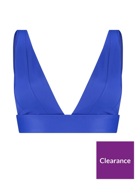 hunkemoller-luxe-triangle-bikini-top