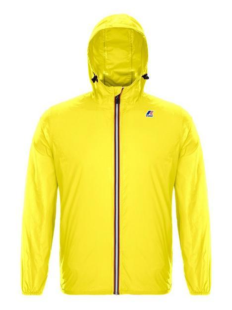 k-way-kids-claude-hooded-rain-jacket-yellow