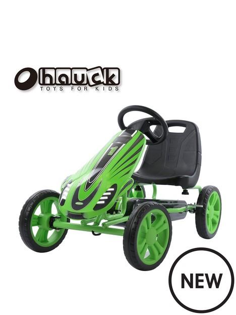 hauck-speedster-go-kart-green