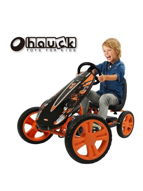 hauck-speedster-go-kart-orange