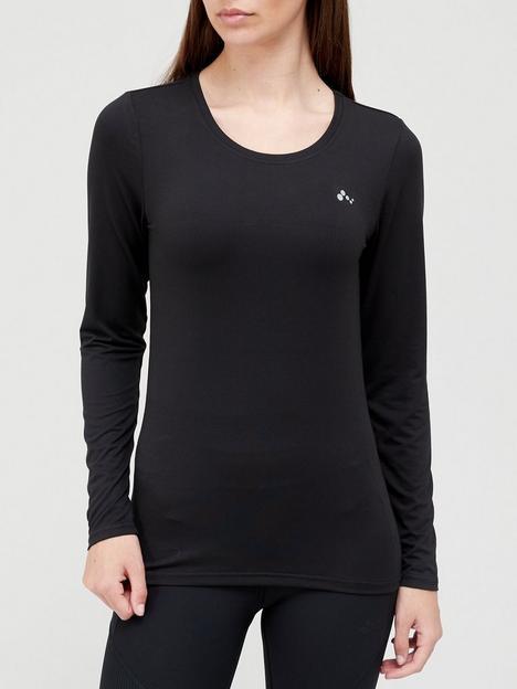 only-play-long-sleeve-training-t-shirt-black