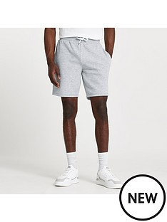 river-island-slim-fit-rinbspshorts-grey