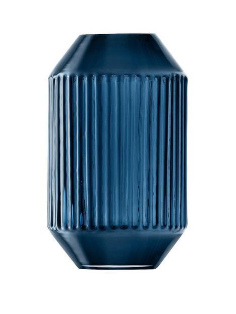 lsa-international-lsa-international-rotunda-sapphire-glass-vase-h15cm
