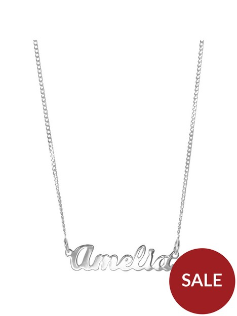 the-love-silver-collection-childrens-sterling-silver-personalised-name-necklace