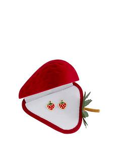 love-gold-9ct-gold-enamel-strawberry-stud-earrings-with-gift-box