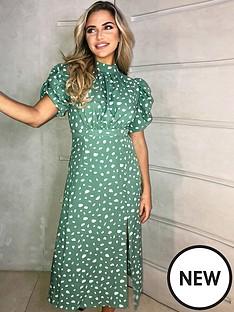 ax-paris-printed-short-sleeve-midi-dress-print