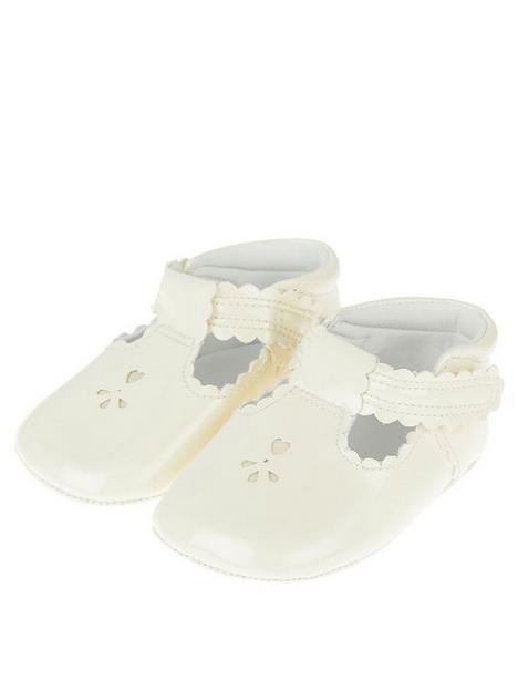 monsoon-baby-girls-patent-cutwork-bootie-ivory
