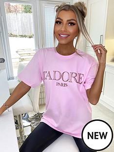 ax-paris-jadore-t-shirt-pink