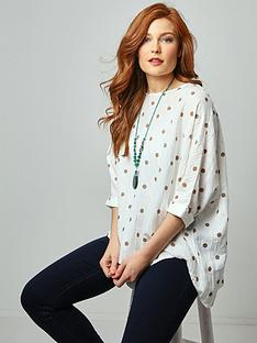 joe-browns-polka-dot-top-white