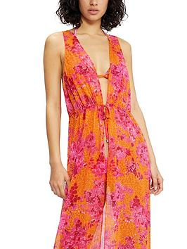 ted-baker-full-length-cover-up-bright-pink