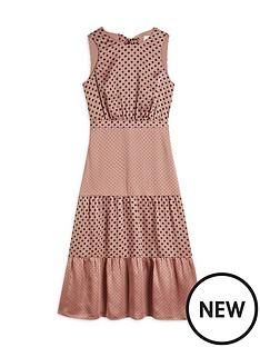 ted-baker-mix-polka-dot-midi-dress-dusky-pink