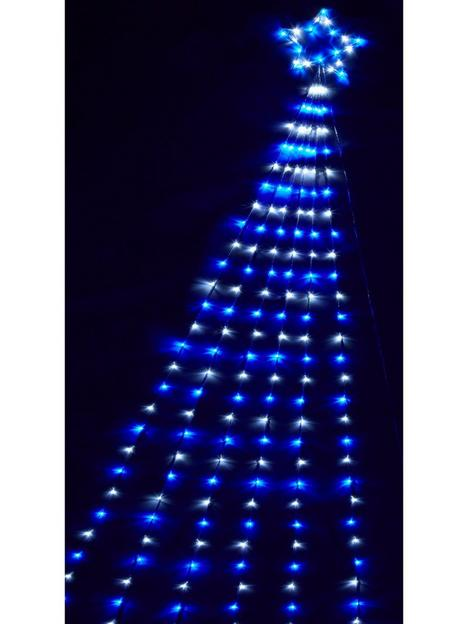 200-led-shooting-starnbspwall-light-with-snowing-effect-outdoor-christmas-decoration
