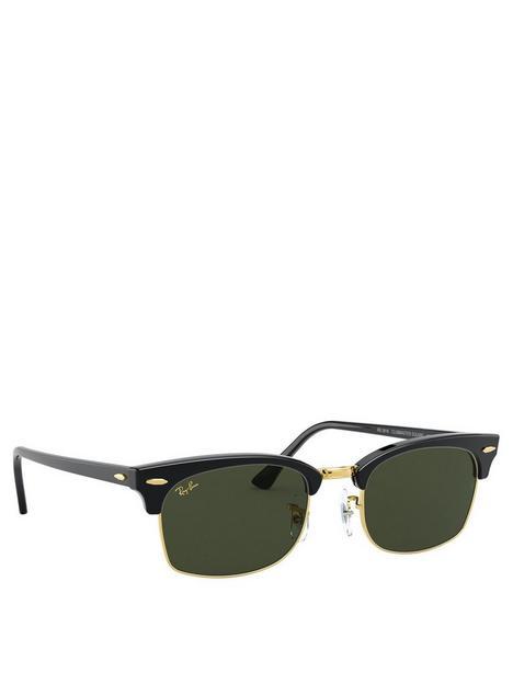 ray-ban-clubmaster-square-sunglasses-black