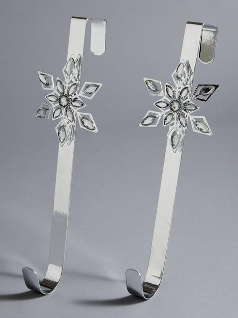 christmas-wreath-snowflake-hangers-ndash-set-of-2nbsp