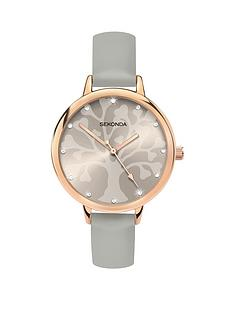 sekonda-sekonda-grey-pattern-dial-grey-strap-ladies-watch