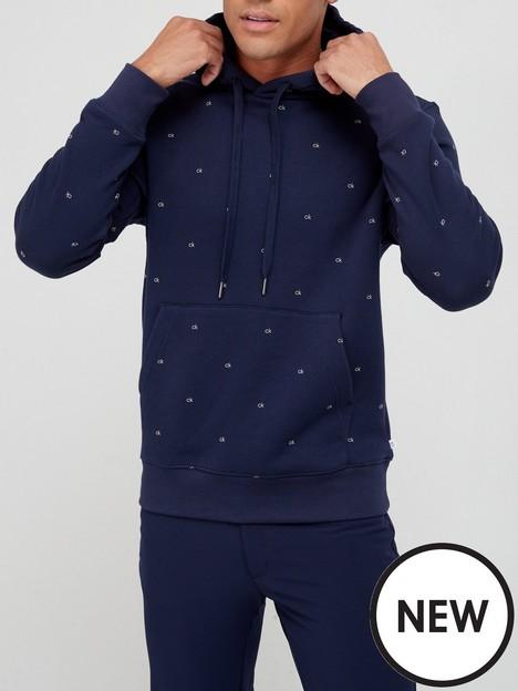 calvin-klein-performance-planet-monogram-hoodie-navy