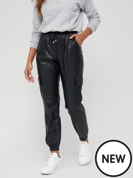 v-by-very-faux-leather-cargo-utility-jogger-blacknbsp