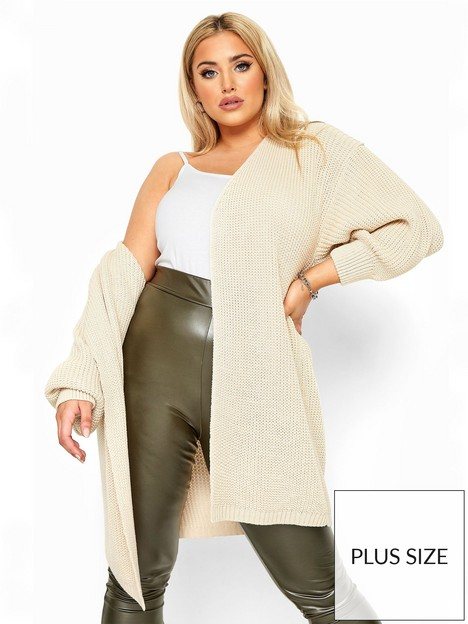 yours-yours-london-oversized-balloon-sleeve-midi-natural