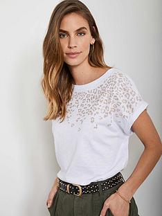 mint-velvet-leopard-studded-t-shirt-whitenbsp