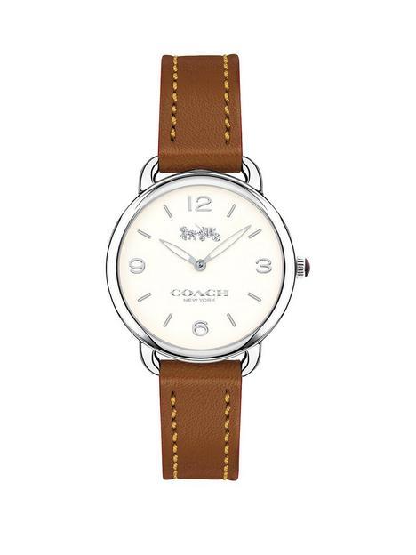 coach-coach-delancey-slim-white-dial-brown-strap-watch