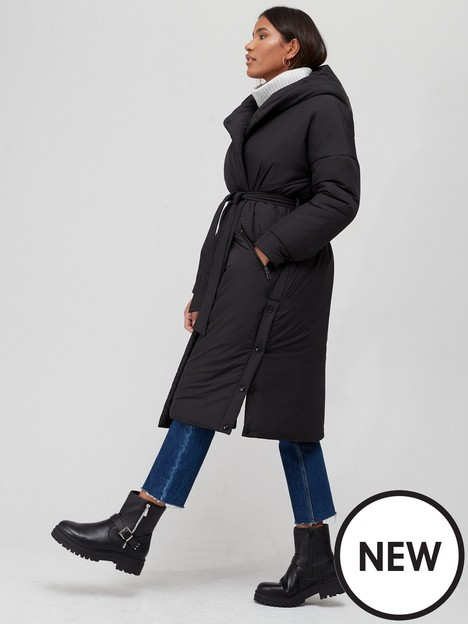 v-by-very-hooded-wrap-padded-coat-black