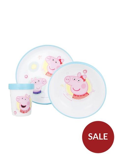 peppa-pig-bicolour-premium-3-piece-dinner-set