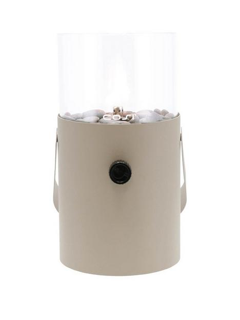 cosiscoop-taupe-fire-lantern