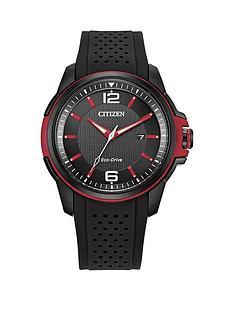 citizen-citizen-calibre-j810-black-date-dial-red-accents-black-silconesports-strap-mens-watch