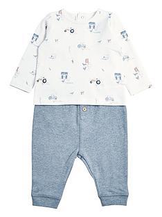 mamas-papas-baby-boys-printed-top-amp-legging-set-multi