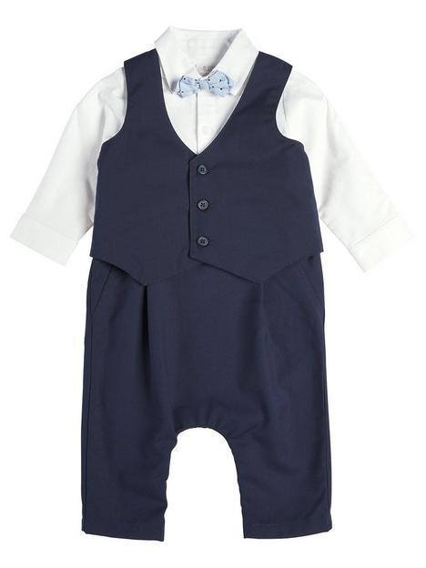 mamas-papas-baby-boys-mock-romper-amp-waistcoat-blue