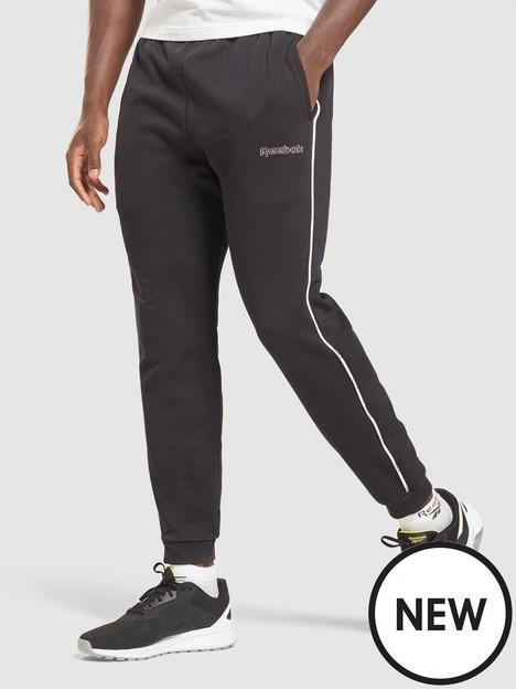reebok-training-essential-piping-joggers-black