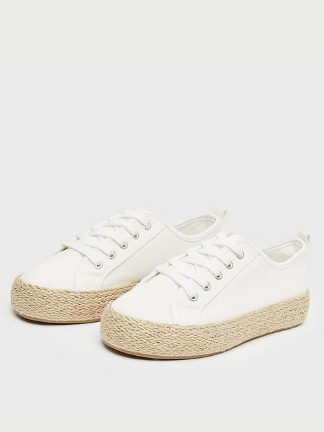 new-look-rope-sole-trainer-white