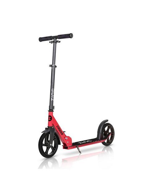 zinc-zinc-big-wheeled-folding-cruise-scooter-red