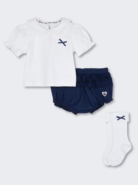 river-island-baby-boys-3-piece-peterpan-collar-bloomer-set-navy