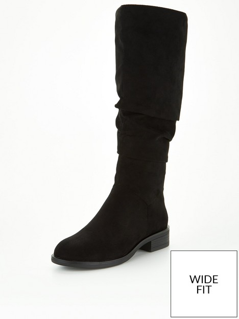 v-by-very-wide-fitnbspcomfort-slouch-knee-boot-black