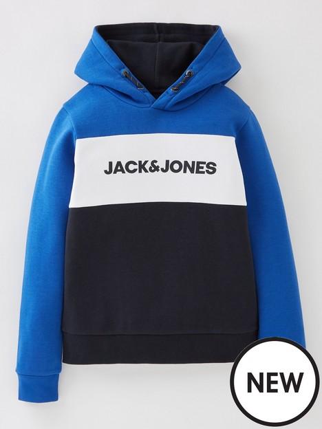 jack-jones-junior-boys-logo-blocking-hoodie-classic-blue