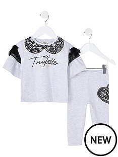 river-island-mini-girls-printed-collar-outfit-grey