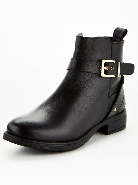 v-by-very-leather-buckle-trim-ankle-boot-black