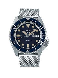 seiko-seiko-sport-blue-dial-blue-bezel-mesh-bracelet-strap-watch