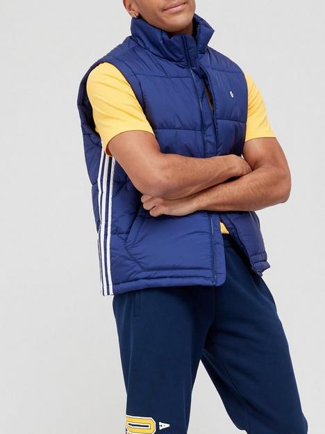 adidas-originals-side-stripe-quilted-giletnbsp--bluenbsp