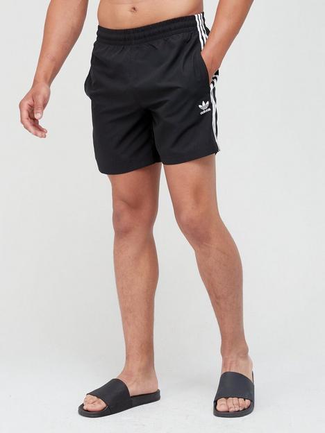 adidas-originals-3-stripe-swim-shorts-black