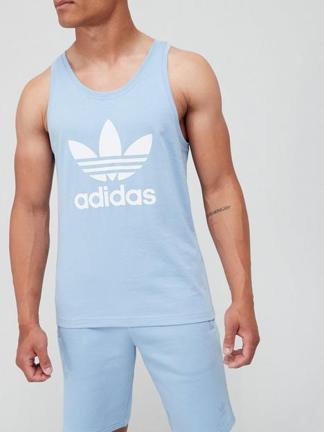 adidas-originals-trefoil-tank-bluewhite