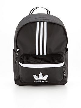adidas-originals-small-backpack-blackwhite