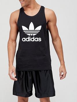 adidas-originals-trefoil-tank-top-blackwhite