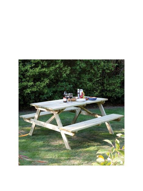 rowlinson-5ft-picnic-bench