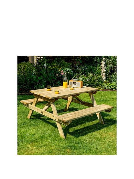 rowlinson-4ft-picnic-bench