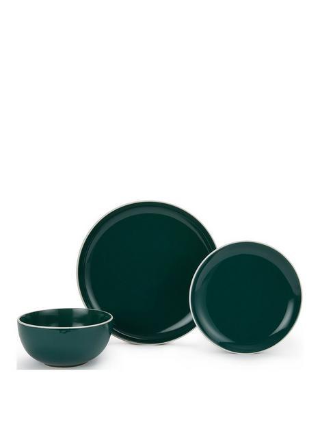 waterside-12-piece-halo-emerald-green-dinner-set